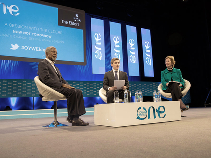 One Young World Summit Dublin, October 2014